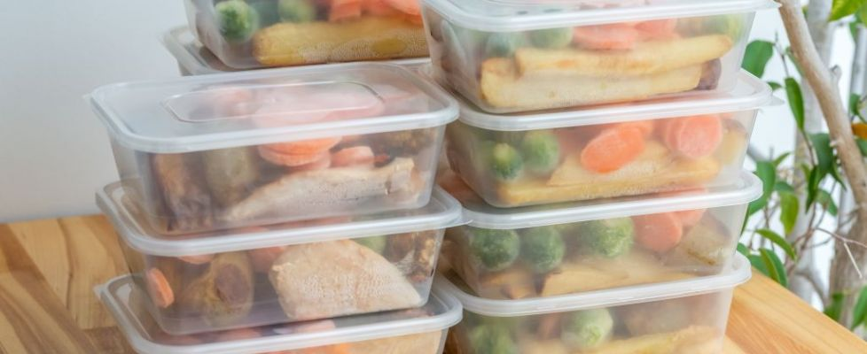 Fridge Food Meal Prepping